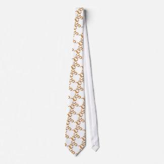 Ohm Symbol in Bronze (Neck Tie) Tie