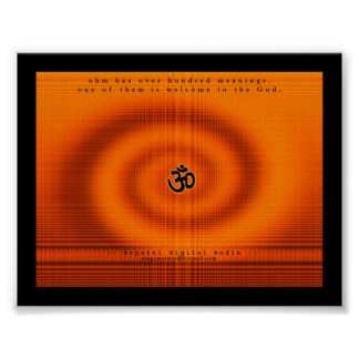 Ohm- Welcome to the God Poster