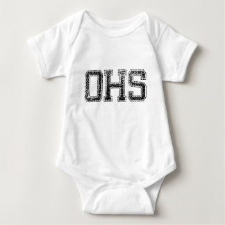 OHS High School - Vintage, Distressed Tee Shirts