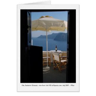 Oia, Santorini (Greece) - Card