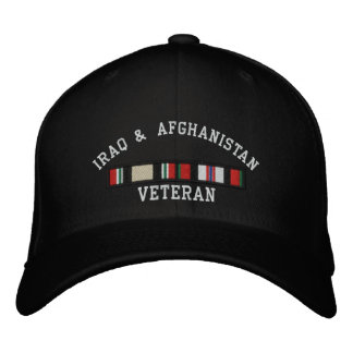 OIF and OEF Embroidered Cap