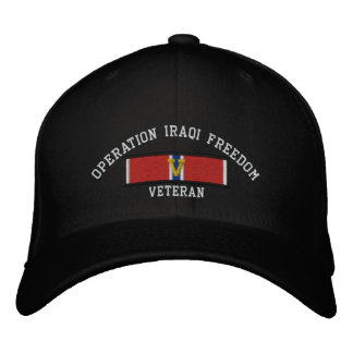 OIF Bronze Star with V Embroidered Hat