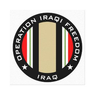 OIF Iraq Canvas Print