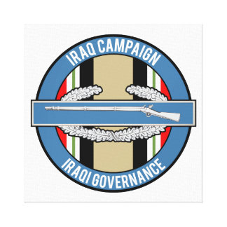 OIF Iraqi Governance CIB Canvas Print