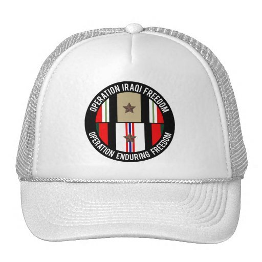 OIF - OEF 1 star Mesh Hats