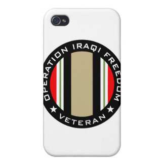 OIF Veteran iPhone 4 Covers