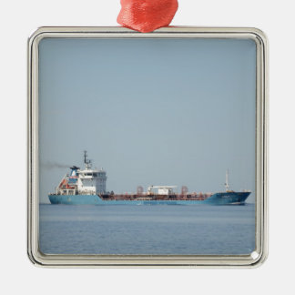 Oil And Chemical Tanker Leon. Christmas Ornament