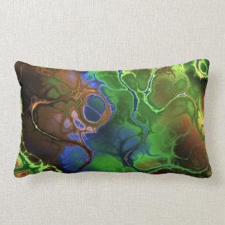 Oil and Paint Lumbar Cushion