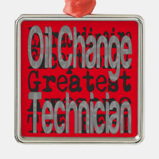 Oil Change Technician Extraordinaire Christmas Ornament