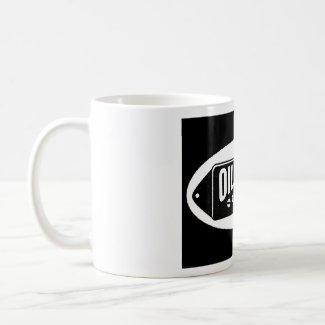 Oil City Pickups 'black logo' mug