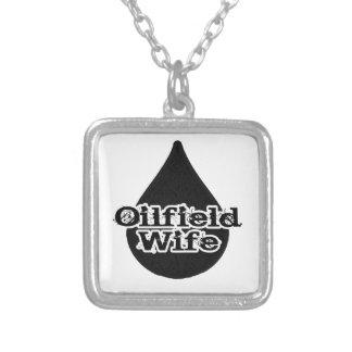 Oil Drop Oilfield Wife Necklace