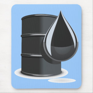 Oil Drum Mouse Pad