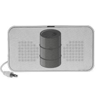 Oil Drum iPod Speaker