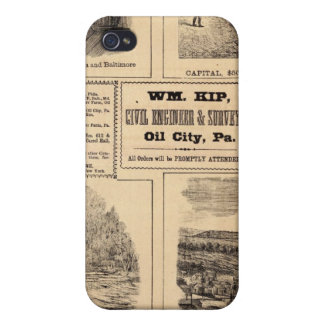 Oil farms iPhone 4 cases