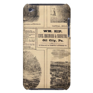 Oil farms iPod touch case