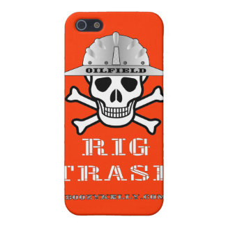 Oil Field Rig Trash,iPhone Case,Oil,Gas,Rigs Covers For iPhone 5