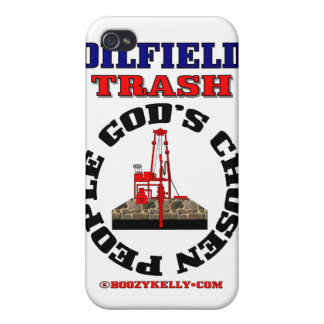 Oil Field Trash,God's Chosen People,Speck Case Covers For iPhone 4