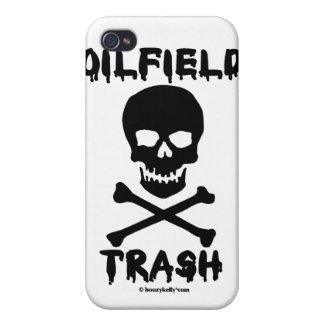 Oil Field Trash,Skull & Crossbones,iPhone Case iPhone 4 Covers