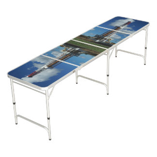Oil Gas Rig Drilling Custom Beer Pong Table