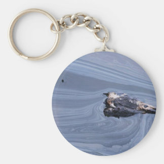 Oil in the Gulf Keychains