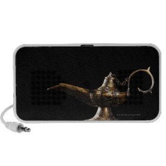 Oil lamp travelling speakers