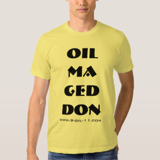 OIL MA GED DON / Vertical T Tee Shirt