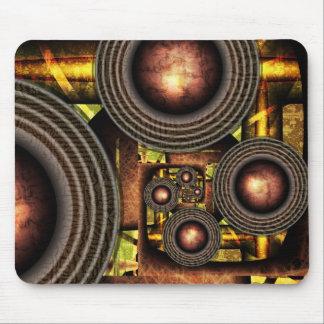 Oil machine mouse pad