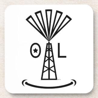 Oil Makes Me Smile Beverage Coasters