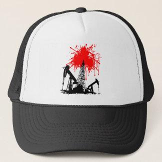 Oil of blood trucker hat