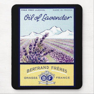 Oil of Lavender - Grasse France Mouse Mat