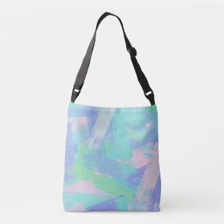 oil paint texture crossbody bag