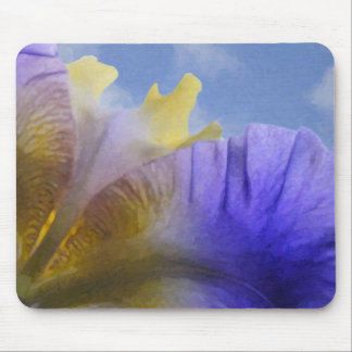 Oil Painted Iris Mouse Pad