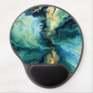 Oil painting abstract art illustration gel mouse pad