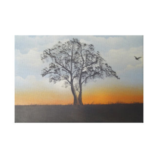 Oil Painting by bbrunelle Canvas Print