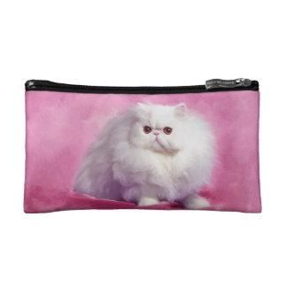 Oil Painting-Chip-Persian Cat-Cosmetic Bag Makeup Bags