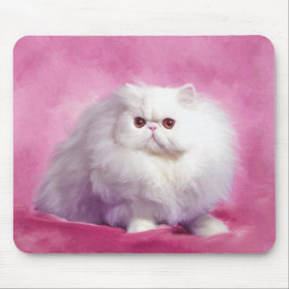 Oil Painting-Chip-Persian Cat-Mousepad Mouse Pad