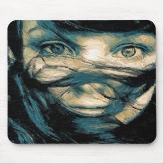 Oil Painting : Eyes of Faith Mousepad