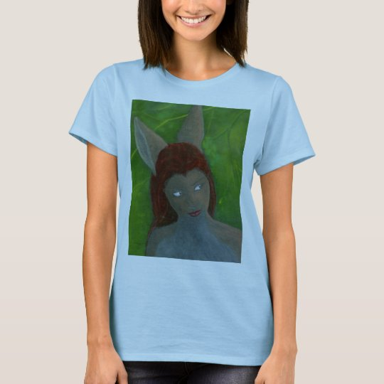 oil painting Furry Anthro Rabbit girl 2010 T-Shirt