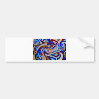 oil painting modern abstract fine art paintings bumper sticker