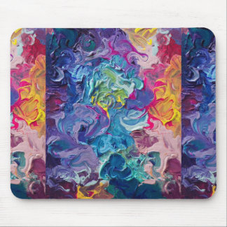 oil painting mousepad