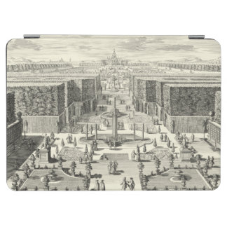 Oil Painting of Fountains at Garden of Versailles iPad Air Cover