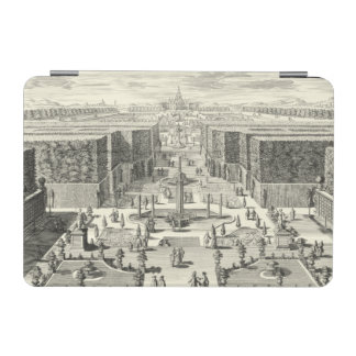 Oil Painting of Fountains at Garden of Versailles iPad Mini Cover