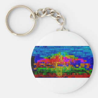 oil painting original modern abstract fine art keychains