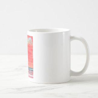 oil painting seascape beach coffee mug sun