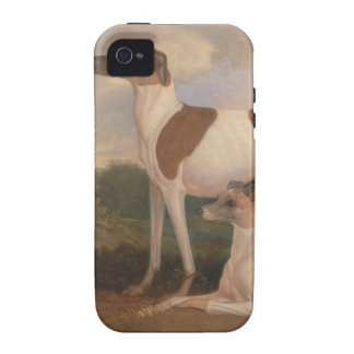 oil paintings of greyhounds iPhone 4 covers