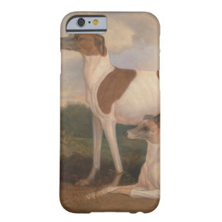 oil paintings of greyhounds barely there iPhone 6 case
