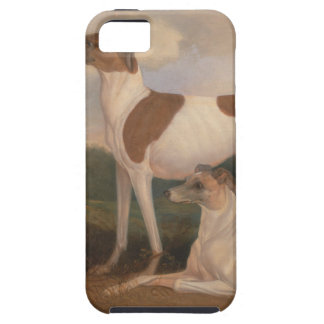 oil paintings of greyhounds tough iPhone 5 case