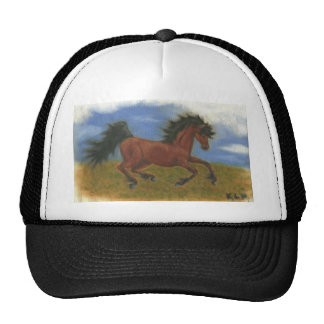 oil pant horse cap