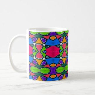 Oil Pastel Abstract Coffee Mug | Rainbow Blobs