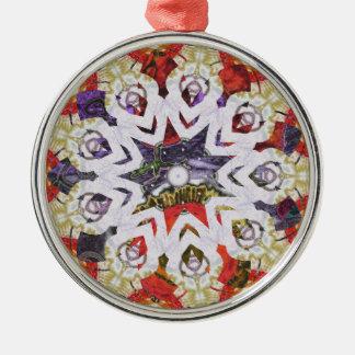 Oil Pastel Christmas Ornament